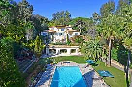Villa in perfect condition in Cannes, French Riviera, with sea view
